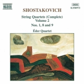 Album artwork for SHOSTAKOVICH. STRING QUARTETS VOLUME 2