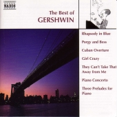 Album artwork for THE BEST OF GERSHWIN