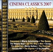 Album artwork for CINEMA CLASSICS 2007