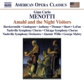 Album artwork for Menotti: Amahl and the Night Visitors