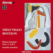 Album artwork for PIANO SONATAS 3, 5 & 9 - Bentzon