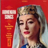 Album artwork for Armenian Songs- The Cosmopolitan Chorale