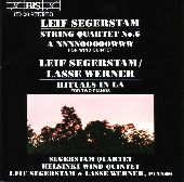 Album artwork for Segerstam - String Quartet No.6