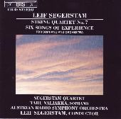 Album artwork for Segerstam - String Quartet No 7
