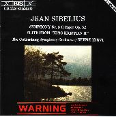 Album artwork for Sibelius - Symphony No.3 and Suite from King Crist