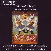 Album artwork for Manuel Ponce - Music for the Guitar