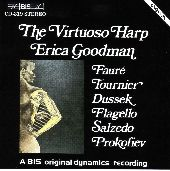 Album artwork for Erica Goodman: The Virtuoso Harp