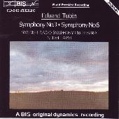 Album artwork for Tubin: Symphonies Nos. 3 & 8 (Jarvi)
