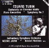 Album artwork for Tubin: Sinfonietta, Symphony No. 7, Piano Concerto