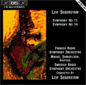 Album artwork for Segerstam - Symphony No.11 & 14