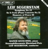 Album artwork for Segerstam - Symphony No.13