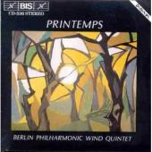 Album artwork for Printemps / Berlin Philharmonic Wind Quintet