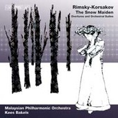 Album artwork for RIMSKY- KORSAKOV - THE SNOW MAIDEN: OVERTURES AND