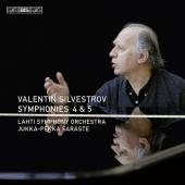 Album artwork for Valentin Silvestrov- Symphonies 4 & 5