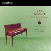 Album artwork for CPE Bach: Solo Keyboard Music, Vol. 22