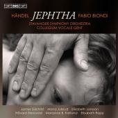 Album artwork for Handel: Jephtha, Fabio Biondi