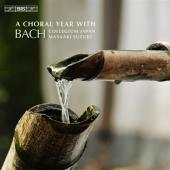 Album artwork for A Choral Year with J.S. Bach / Suzuki