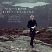 Album artwork for Nordic Clarinet Concertos / Frost