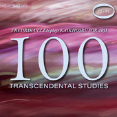Album artwork for Sorabji: 100 Transcendental Studies, Nos. 72-83