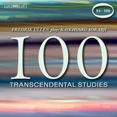 Album artwork for Sorabji: 100 Transcendental Studies, Nos. 84-100