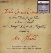 Album artwork for Handel: Twelve Grand Concertos (Gester)