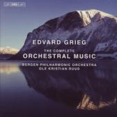 Album artwork for Grieg: The Complete Orchestral Music / Ruud