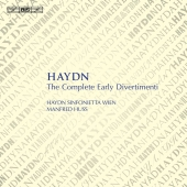 Album artwork for Haydn: The Complete Early Divertimenti