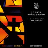 Album artwork for Bach: The Sacred Masterworks / Suzuki(10CD)