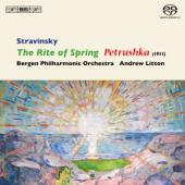 Album artwork for Stravinsky: Rite of Spring, Petrushka, Litton