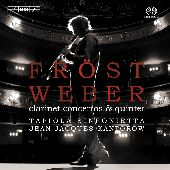 Album artwork for Weber: Clarinet Concertos & Quintet (Frost)
