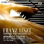 Album artwork for LISZT PIANO CONCERTOS