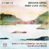 Album artwork for GRIEG - PEER GYNT SUITES