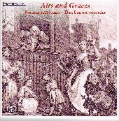 Album artwork for Parnassus Avenue, Dan Laurin: Airs and Graces -18t