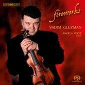 Album artwork for Fireworks: Virtuoso Violin Music / Vadim Gluzman