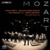 Album artwork for Mozart: Violin Concertos / Tognetti