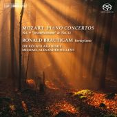 Album artwork for Mozart: Piano Concertos 9 & 12 / Ronald Brautigam