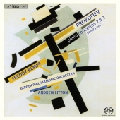 Album artwork for Prokofiev: Piano Concertos / Freddy Kempf
