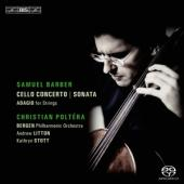 Album artwork for Barber: Cello Concerto, Sonata, Adagio / Poltera