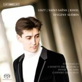 Album artwork for Yevgeny Sudbin plays Liszt, Ravel & Saint-Saëns