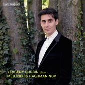 Album artwork for Medtner & Rachmaninoff: Piano Works / Sudbin