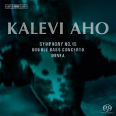 Album artwork for Aho: Symphony No.15, Double Bass Concerto