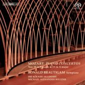 Album artwork for Mozart - Piano Concertos Nos 19 and 23 / Brautigam