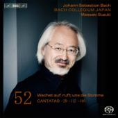 Album artwork for J.S. Bach - Cantatas, Volume 52 / Suzuki