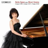 Album artwork for Mozart - Piano Sonatas Nos 10, 11 & 12 / Ogawa