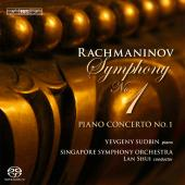 Album artwork for Rachmaninov - Symphony No.1 & Piano Concerto No.1