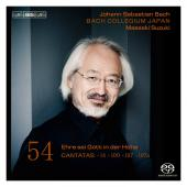 Album artwork for Bach - Cantatas, Volume 54