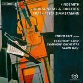 Album artwork for Hindemith - Violin Concerto and Sonatas