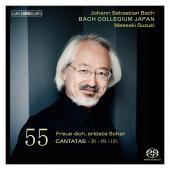 Album artwork for J.S. Bach · Cantatas, Volume 55