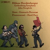 Album artwork for Dean: Dramatis personæ - Francesconi: Hard Pace