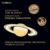 Album artwork for Holst: The Planets, Elgar: Enigma Variations w/Lit